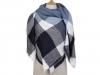 Velký teplý šátek / pléd 140x140 cm (1 ks)