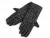 Dámské úpletové rukavice (1 pár)