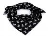 Bavlněný šátek pirát 65x65 cm (1 ks)
