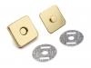 Magnetické zapínání 18x18 mm čtverec (5 sada)
