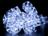 Světelný LED řetěz kostky ledu (1 sada)