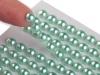 Samolepící perly na lepícím proužku Ø6 mm (1 karta)