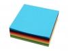 Barevné papíry 8x8 cm (1 sada)