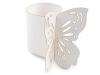 Papírový kroužek na ubrousky Ø4 cm motýl (10 ks)