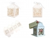Papírová krabička 5,5x5,5 cm se stuhou (1 ks)