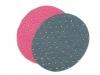 Nažehlovací záplaty s 3D puntíky 6,8x8,5 cm riflové (1 sáček)