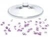 Broušené kamínky SS16 hot-fix pro výrobu štrasu / svatebních stolů (90 g)