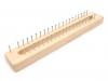 Dřevěný rámeček na pletení (1 ks)