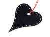 Dekorace srdce 7x8 cm (1 ks)
