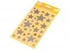 Samolepící hvězdy s glitry (1 karta)