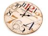 Dřevěné hodiny Ø34 cm (1 ks)