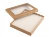 Krabička s průhledem polstrovaná 16x19,5 cm (1 ks)