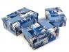 Papírová krabice s víkem - sada 3 ks (1 sada)
