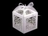 Papírová krabička 6x6 cm se stuhou (10 ks)