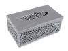 Kovový zásobník na kapesníky (1 ks)