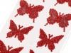 Samolepící dekorace motýl (1 karta)