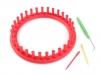 Sada na pletení kruh Ø19 cm (1 sada)