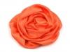 Saténová růže Ø70 mm (10 ks)