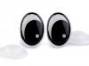 Bezpečnostní oči 11x15 mm (4 ks)