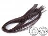 Kožený řemínek šíře 2 mm, 110 cm (20 ks)