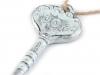 Dekorace klíč (3 ks)