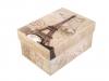 Papírová krabice s víkem 11x15,5 cm (1 ks)