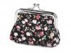 Malá peněženka s květy (1 ks)