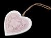 Dřevěné srdce (1 ks)
