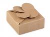 Papírová krabička natural (2 ks)