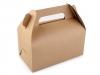 Papírová krabička natural s uchem (1 ks)