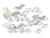 Broušené kamínky naveta našívací mix v lahvičce (1 ks)