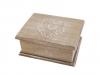 Svatební dřevěná krabička s víkem 11x14 cm (1 ks)