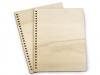 Dřevěné desky na výrobu zápisníku A5 (2 ks)