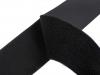 Suchý zip komplet šíře 100 mm černý (1 m)