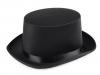 Dekorační klobouk / cylindr k dozdobení (1 ks)