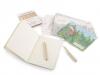 Kreativní sada pastelky, pohlednice a zápisník Languo (1 sada)