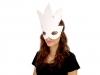 Karnevalová maska - škraboška k domalování (3 ks)
