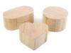 Dřevěná krabička k dozdobení (1 ks)
