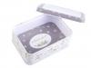Plechová krabička s průhledem střední (1 ks)