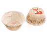 Vánoční papírové košíčky na muffiny (1 sada)