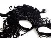 Karnevalová maska - škraboška páv (1 ks)
