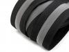 Zip spirálový krytý šíře 5 mm metráž reflexní (3 m)