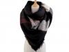 Velký teplý šátek / pléd 135x135 cm (1 ks)