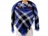 Velký teplý šátek / pléd 130x130 cm (1 ks)
