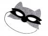 Dětská karnevalová maska - škraboška filcová zvířátka (1 ks)